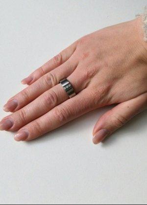 Ring  FOSSIL Gr. 53 mit Zirkonia Steinen