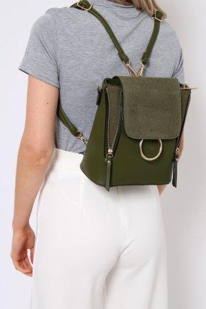 RING FRONT Rucksack Tasche
