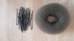 Ring für Dutt + Nadeln
