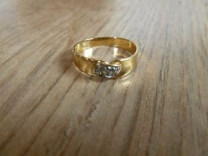 Ring Gold 585 55 17,5mm