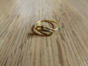 Ring Gold 585 56 17,75mm