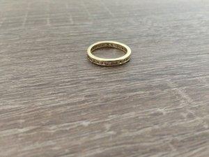 Ring Gold (585) mit Strasssteinen
