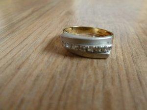 Ring Gold 585 silber Steinchen 17,5mm 55