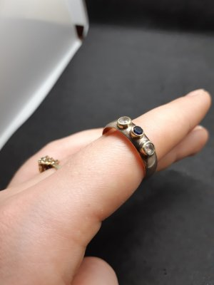 Ring Gold Farbe Vintage