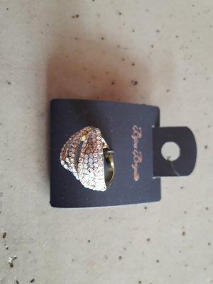 Ring gold mit steinen one size
