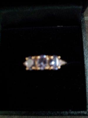 Ring Gold Ring mit Tansanit