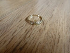 Ring Gold silber 585 51 16,5mm