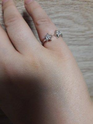 Ring Gr. 54 , Silber 925& Zirconia,  aus Italien