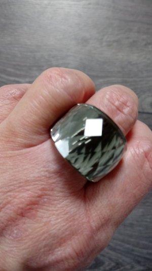 Ring multicolored glas