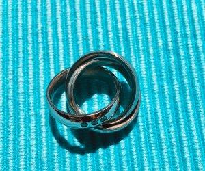 Pierre Lang Zilveren ring lichtgrijs Edelstaal