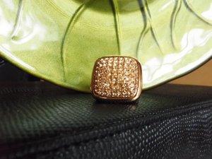 Jette Anello d'oro oro-albicocca