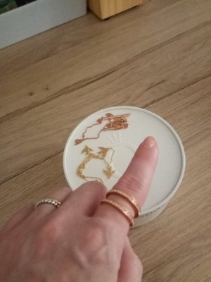 Ring Michael Kors in Farbe Rosegold