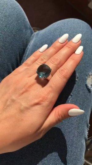 Ring mit großem Swarovski Stein