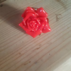 Ring mit Rose