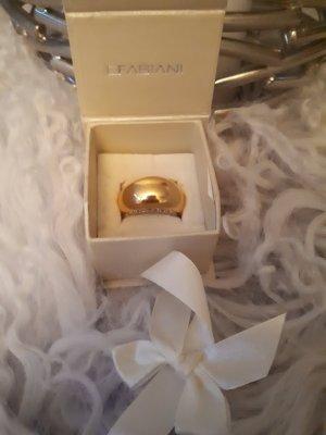 Ring mit Swarovski-Steinen, Gr. 59,5