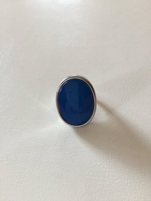 Ring Modeschmuck blau