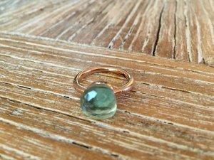 Ring Nudo Style blaugrün Gr. 53