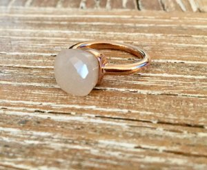 Ring Nudo Style rosa Gr. 53
