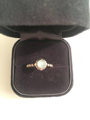 Ring Pandora Silber mit Edelstein Grösse 52