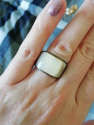 Anello di fidanzamento bianco-argento
