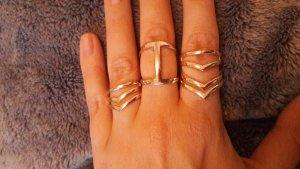 Ring Ringe Set 3er Pack Arrows Hippie Boho Blogger Roségold