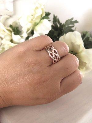 Ring rosegold Gr. 17 Neu