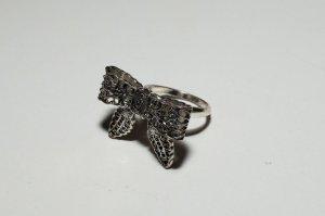 Ring, Schleifenform, silber