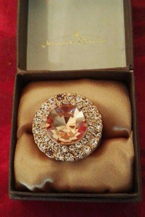 Bijou Brigitte Ring goud-abrikoos