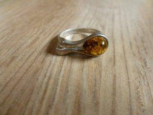 Ring Silber 925 Bernstein 53 16,75mm