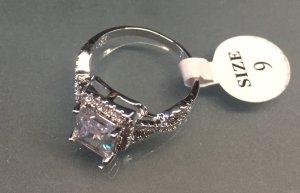 Ring Silber 925 echtschmuck Gr 9