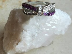 Anillo color plata