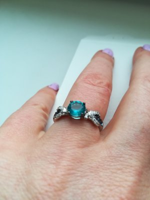 Ring baby blue
