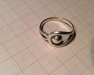 Ring Silber Durchmesser etwa 2 cm