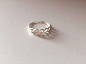 Ring silber Felder vintage klein