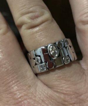 Ring Silber mit Steinen