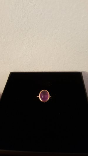 Silver Ring rose-gold-coloured-pink