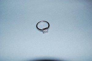 """Ring """"Square White Light"""" von Esprit, Silber mit synth. Stein"""