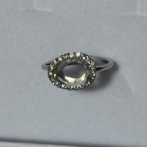 Ring Sterlingsilber Silber Zirkonia
