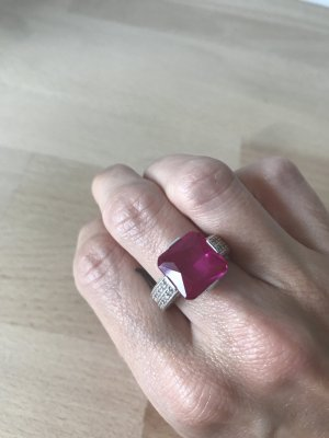 Thomas Sabo Ring zilver-roze