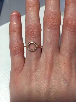 """Ring """"Unendlichkeit"""" mit Kreismotiv von Leaf"""