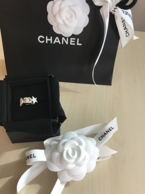 Chanel Silver Ring silver-colored