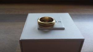 Skagen Partner Ring gold-colored stainless steel
