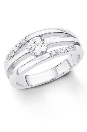 s.Oliver Zilveren ring zilver