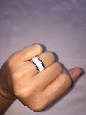 M&M Anello bianco-grigio chiaro