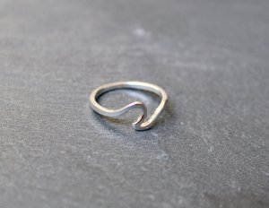 Ring silver-colored metal