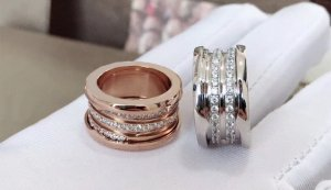 Statement Ring silver-colored-rose-gold-coloured