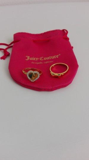 Juicy Couture Bague doré métal