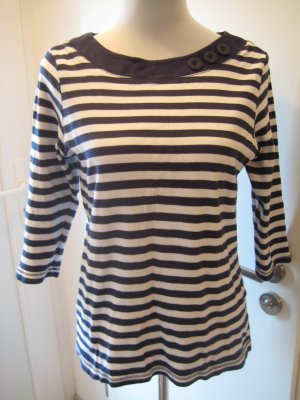 Stripe Shirt white-dark blue