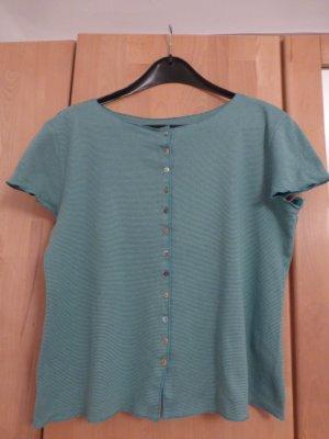 Maas Camisa de rayas azul-verde