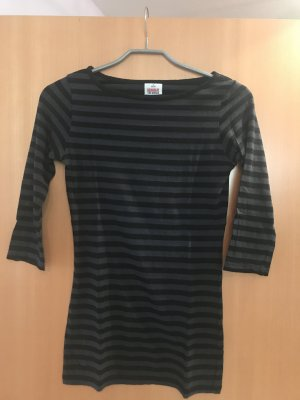 Takko Stripe Shirt black-anthracite